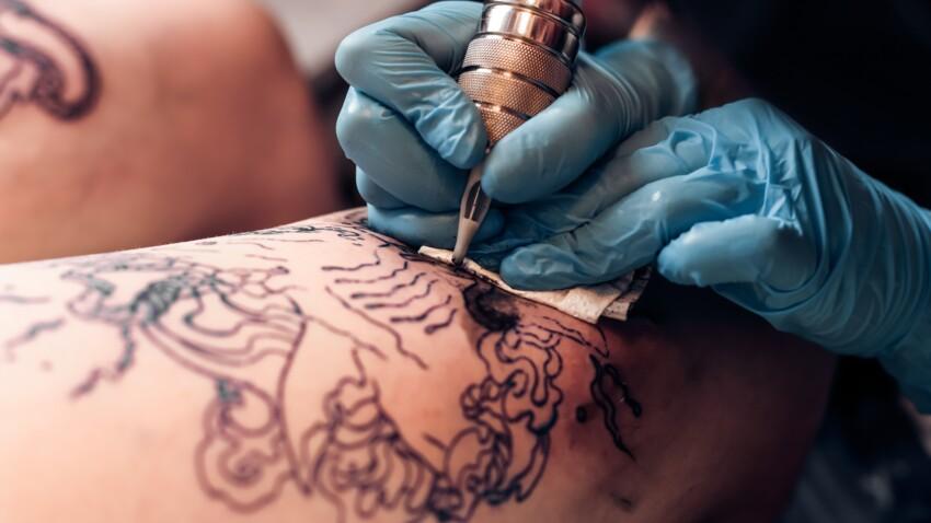 Tatouages : les aiguilles seraient responsables d'allergies