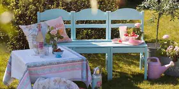 Bricolage, récup : comment fabriquer un banc de jardin avec ...