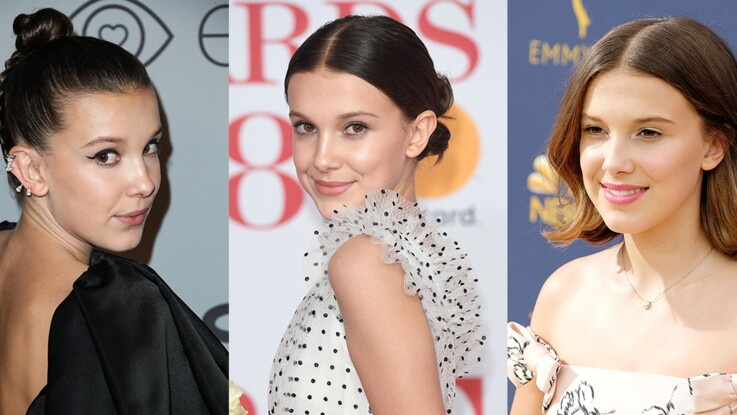 Les plus beaux looks beauté de Millie Bobby Brown (Stranger Things)