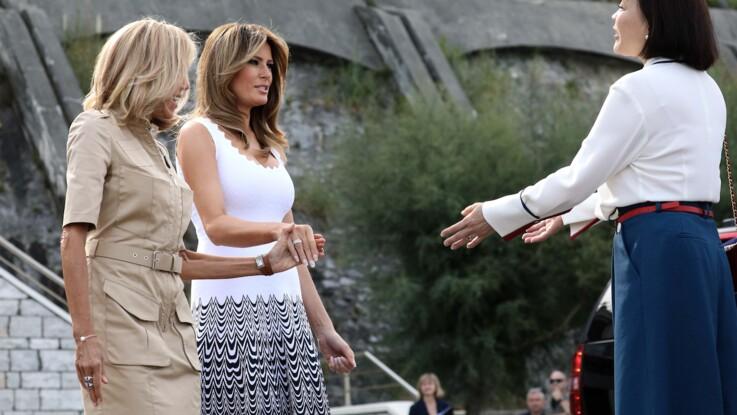 G7 : Melania Trump et son caprice basque