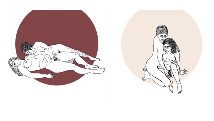 Kamasutra lesbien : deux Instragrameuses illustrent le sexe entre femmes