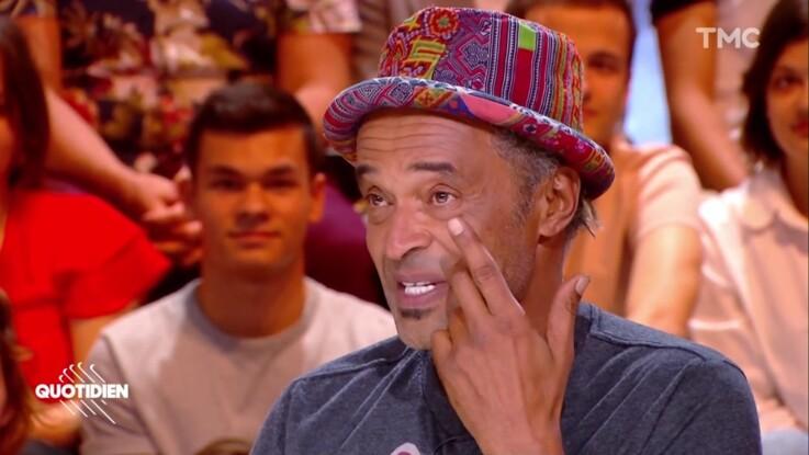 """""""Quotidien"""" : Yannick Noah fond en larmes en évoquant ses parents"""