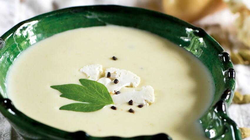 Crème de Samba et chou-fleur, lait de coco et cardamome