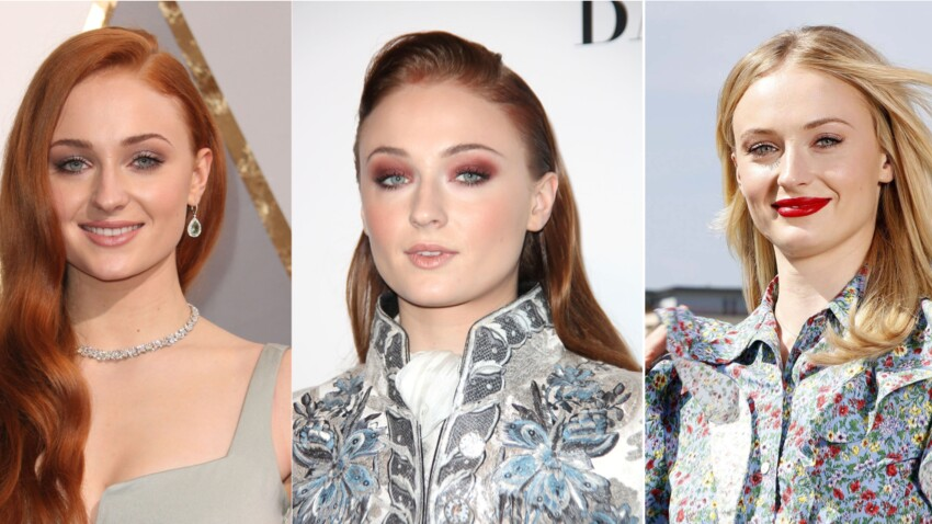 Sophie Turner (Game of Thrones) : ses plus beaux looks beauté