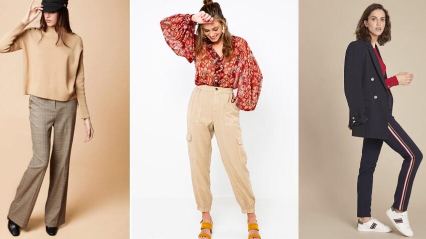 Pantalon de la rentrée 2019 : les 20 nouveautés les plus stylées pour toutes les morphos