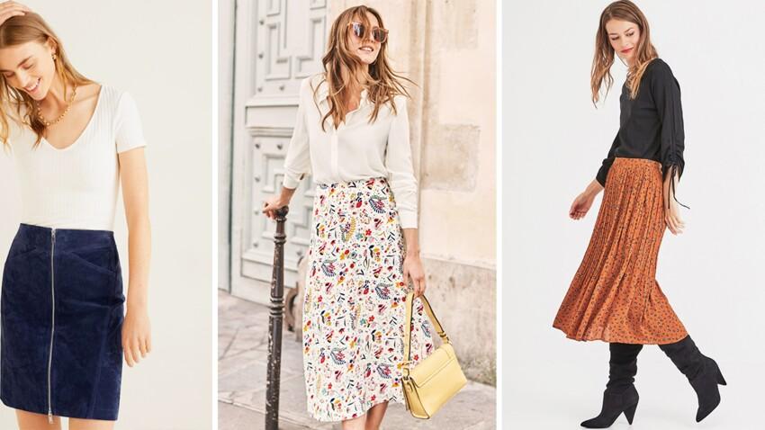 Les plus belles jupes de la rentrée (à porter dès maintenant pour prolonger l'été !)