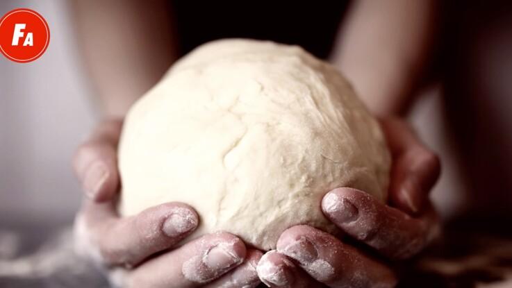La recette de la pâte magique multifonction pour préparer pizzas, croissants, brioches, petits pains, etc.