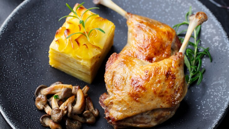 Cuisson de la cuisse de canard : mode d'emploi