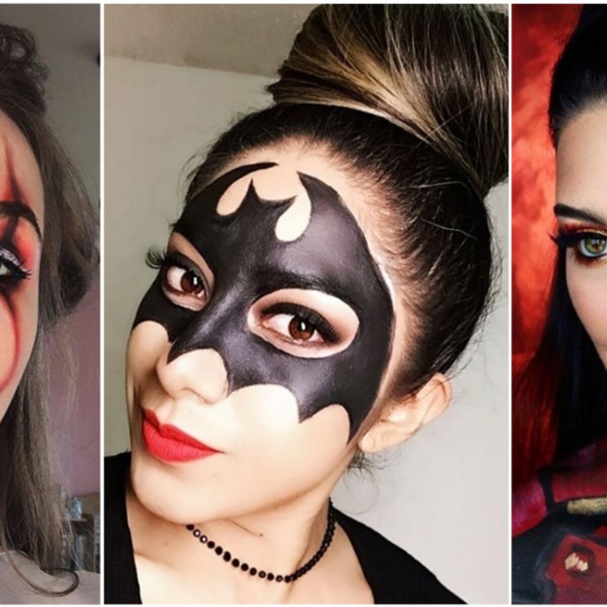 Comment Faire Un Beau Maquillage D Halloween.Maquillage D Halloween 5 Idees Inratables Pour S Inspirer Femme Actuelle Le Mag