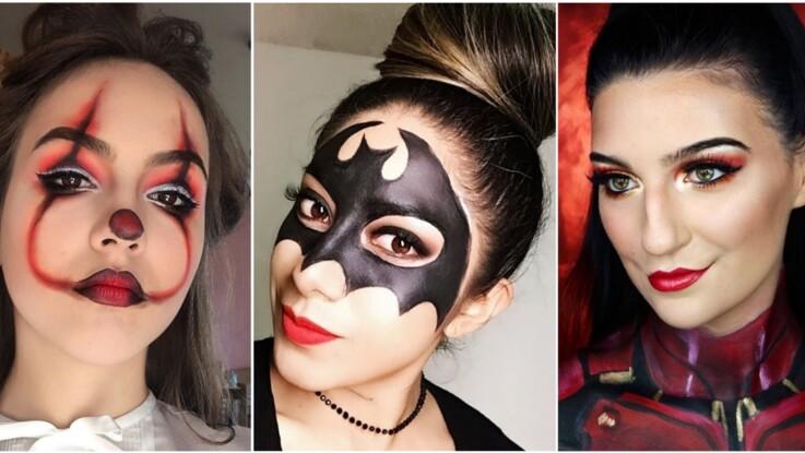 Maquillage d'Halloween : 5 idées inratables pour s'inspirer : Femme Actuelle Le MAG