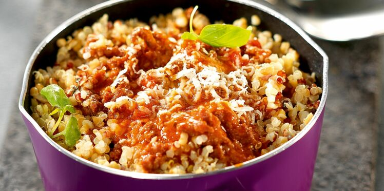 Quinoa Gourmand  bolognaise