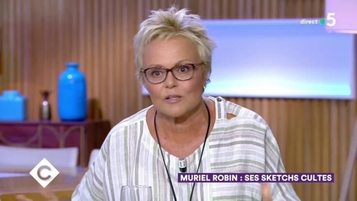 """Vidéo - """"C à vous"""" : Muriel Robin répond aux insultes de Jean-Marie Bigard"""