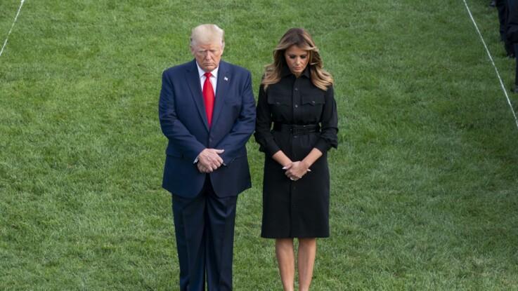 PHOTOS - Melania Trump : ce geste rarissime qu'elle a eu pour son époux Donald Trump
