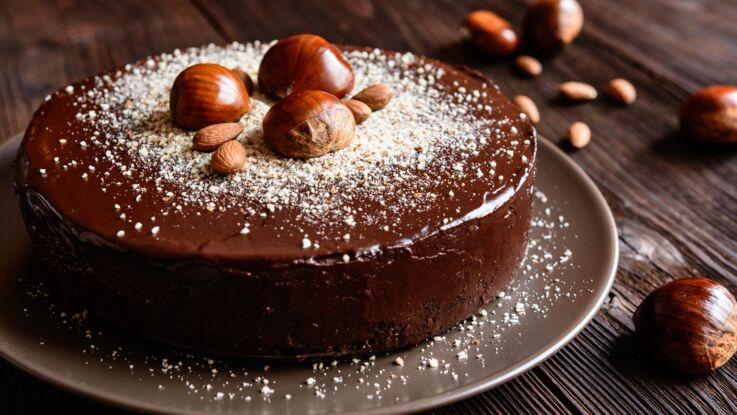 Gâteau fondant au chocolat et mascarpone