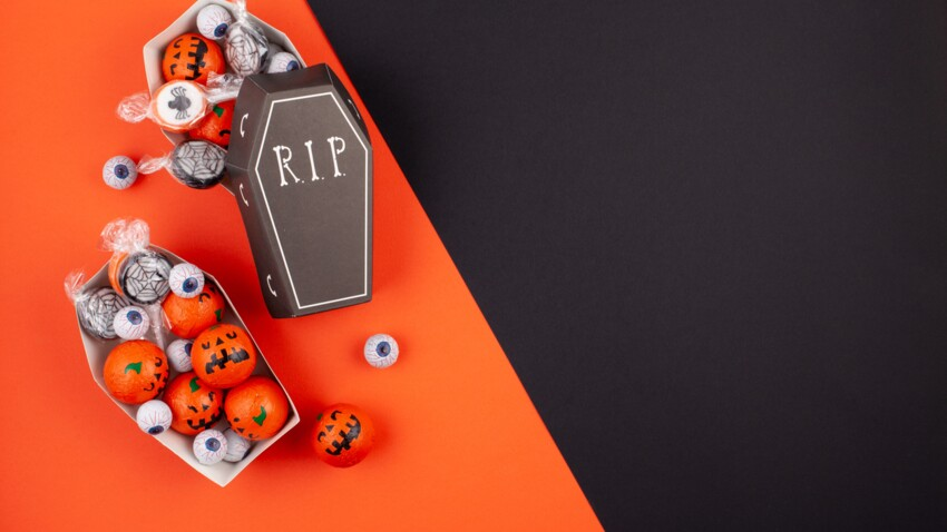 Bonbons d'Halloween : nos astuces vont plaire aux enfants