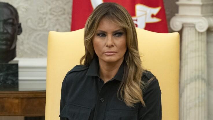 Melania Trump : pourquoi son manteau porté le 11 septembre fait polémique