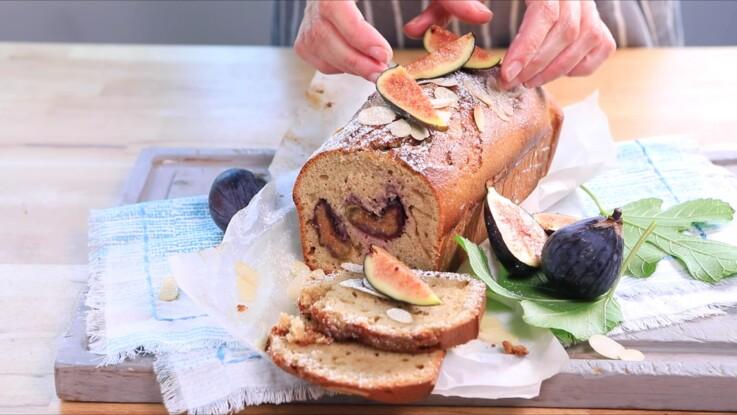Cake figue-amande : la recette super facile de saison
