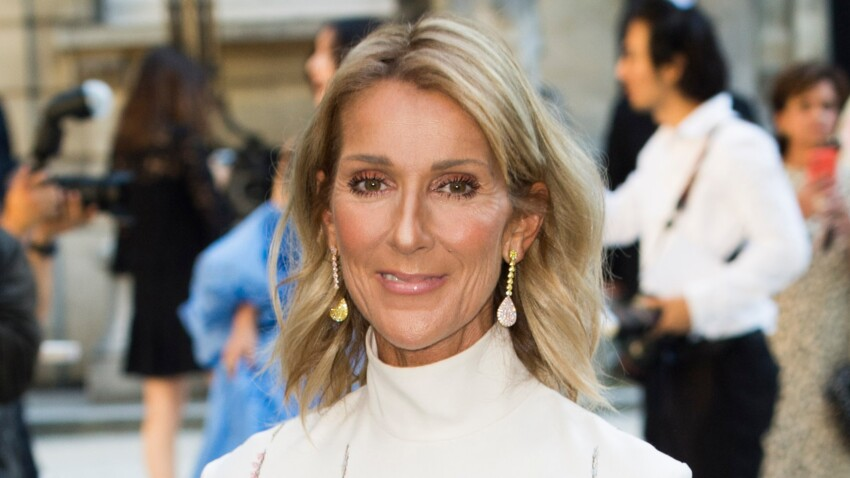 Photo - Céline Dion annonce une grande nouvelle dans une robe de diva (juste wow !)