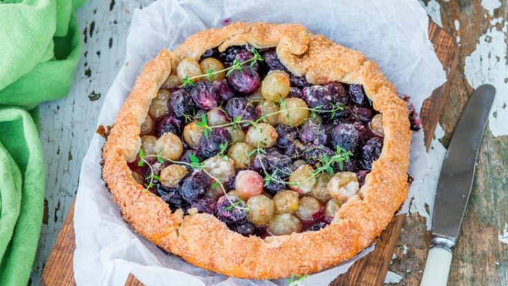 Nos recettes sucrées faciles et pas chères avec du raisin