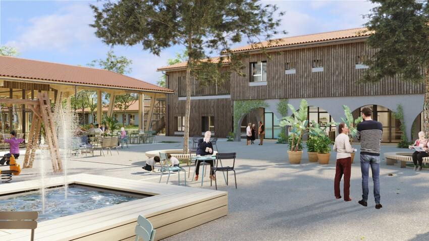 Le village Alzheimer va accueillir ses premiers résidents