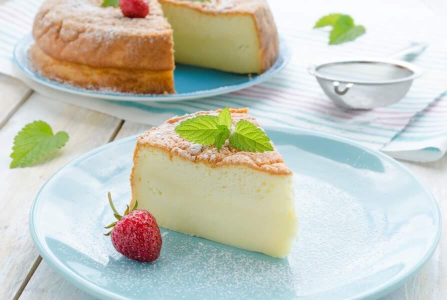 Gâteau au fromage blanc et yaourt