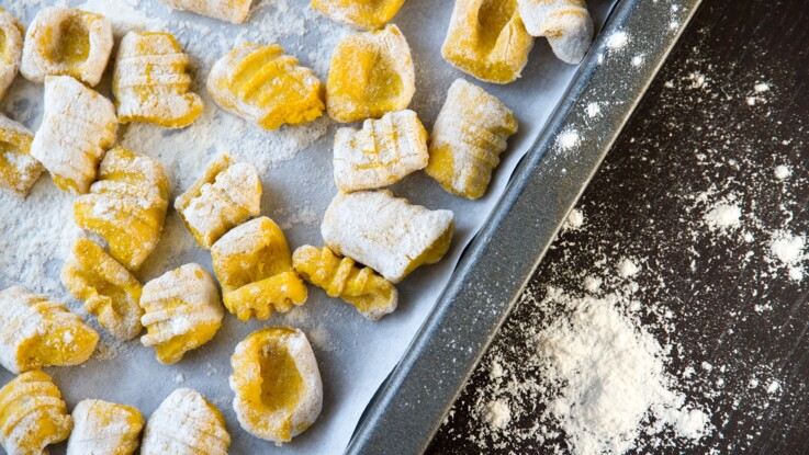 Potimarron, patate douce, gorgonzola : nos recettes de gnocchis pour l'automne