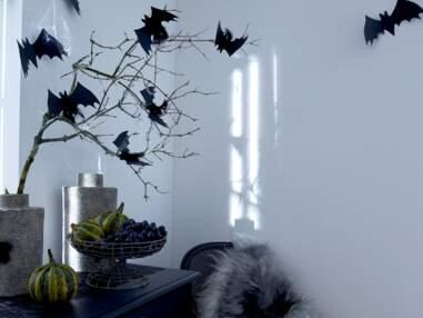 DIY Halloween : des chauves-souris à accrocher