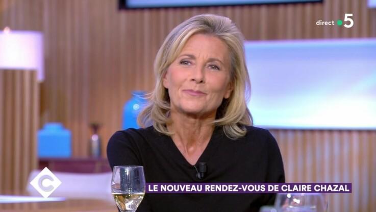 """Vidéo - """"C à Vous"""" : Claire Chazal mal à l'aise après une question sur ses relations avec Brigitte Macron"""