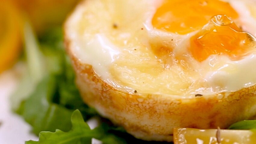 Nids d'œuf au fuseau lorrain
