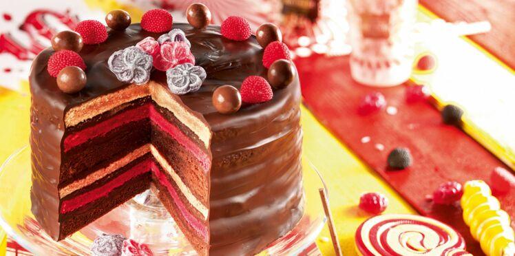 Rainbow cake de Mathilde