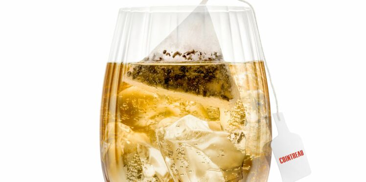 Cocktail Cointreau Fizz Tea