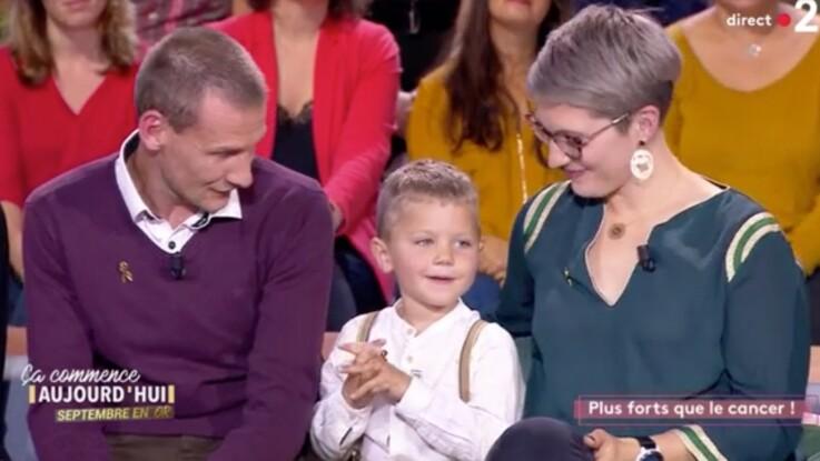 """""""Ça commence aujourd'hui"""" : un petit garçon de 4 ans atteint d'un cancer bouleverse le plateau"""