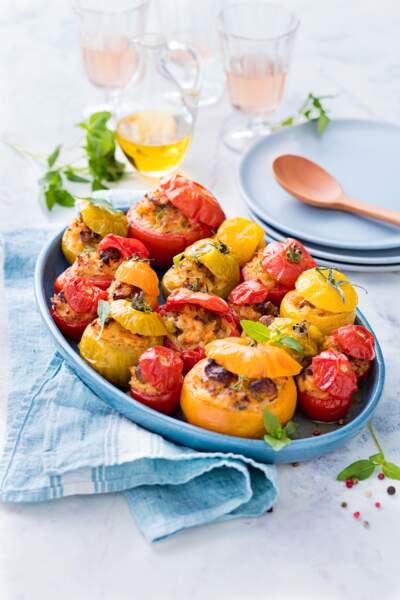Tomates farcies du lendemain