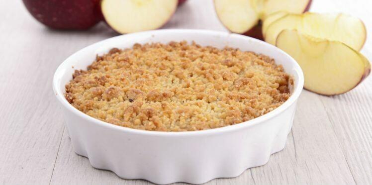 Crumble aux pommes : recettes et astuces pour le réussir à tous les coups