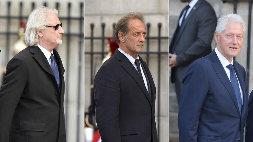 PHOTOS - Obsèques de Jacques Chirac : Vincent Lindon, Patrick Sébastien, Bill Clinton... de nombreuses personnalités venues lui rendre un dernier hommage
