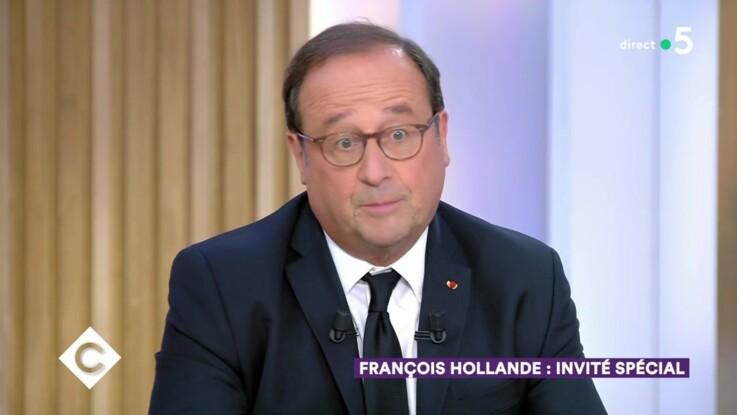 """Vidéo - """"C à Vous"""" : Carla Bruni choquée par François Hollande, le Président donne (enfin) sa version des faits"""