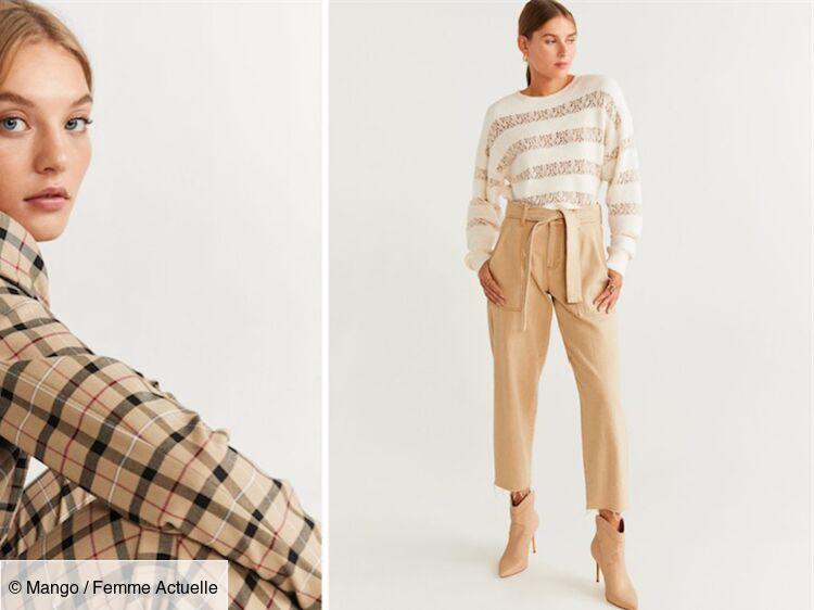 Vêtements femme Mango beige en ligne | Commandez dès