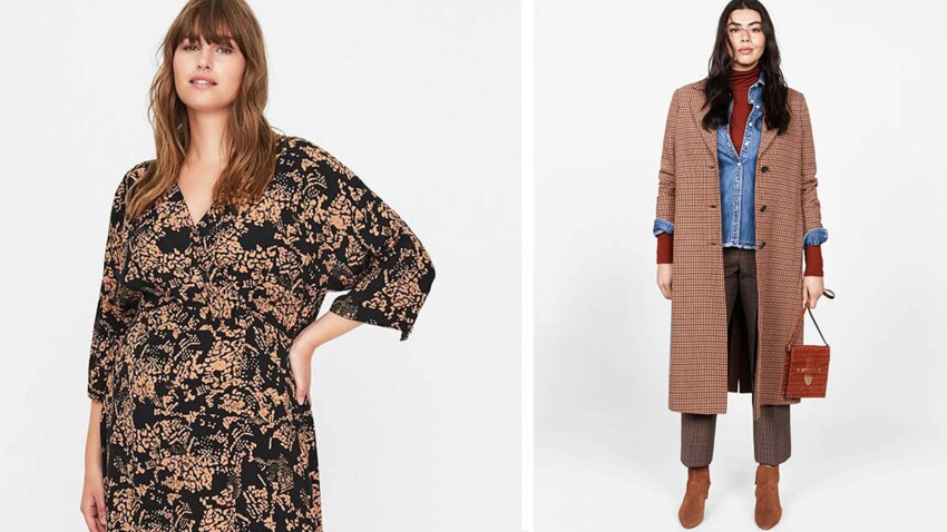 Mode ronde : 20 looks grande taille canons pour l'automne 2019