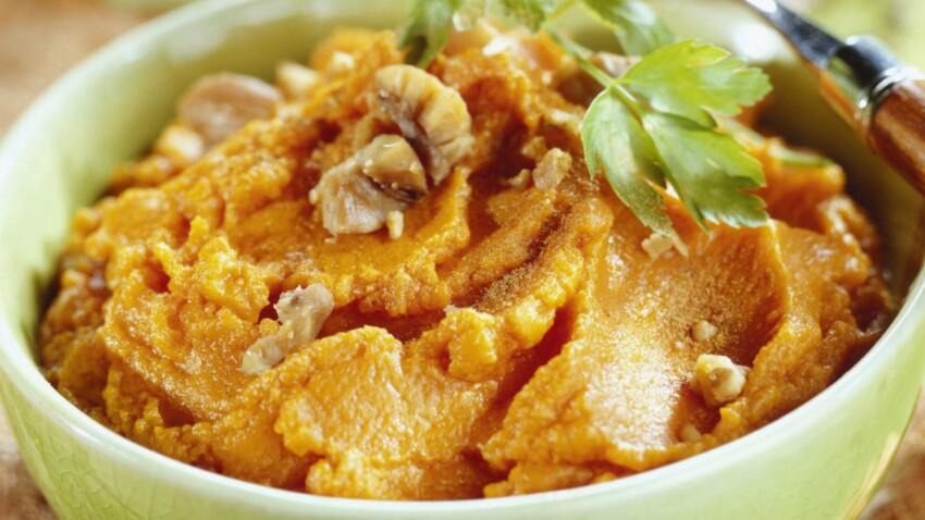 Pomme de terre, brocolis, patate douce, potiron… 10 recettes de purées d'automne