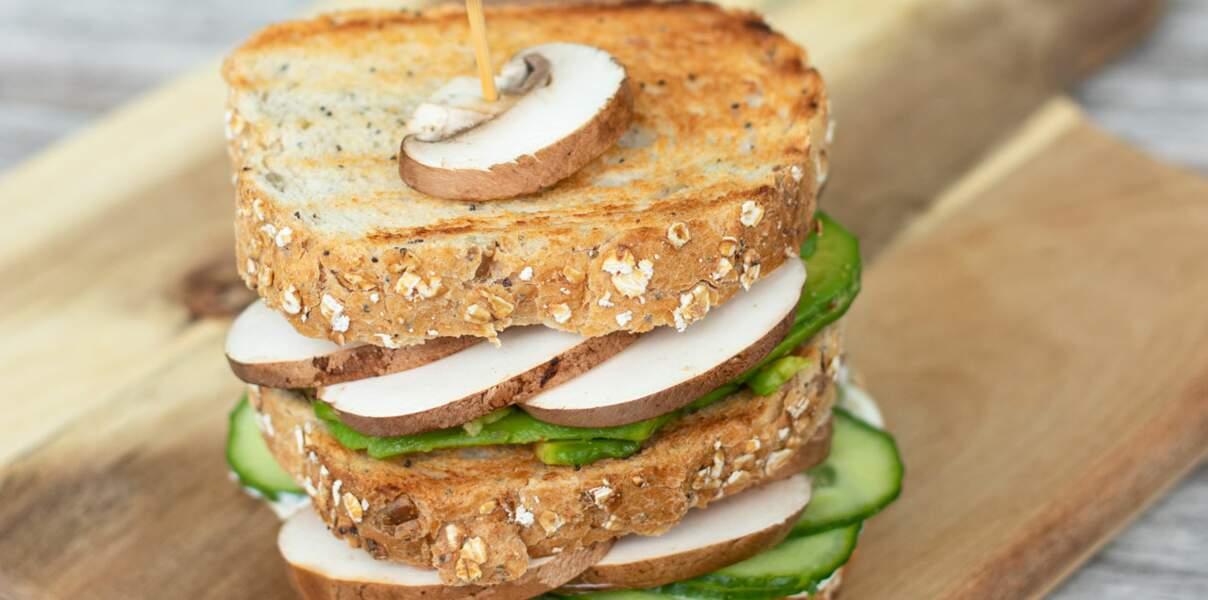 Club sandwiches aux légumes
