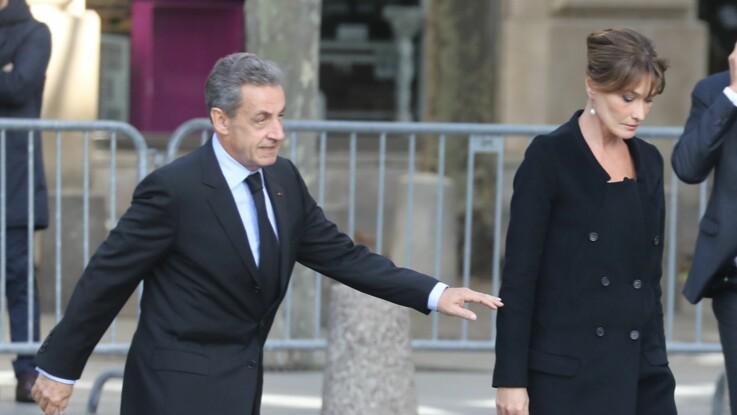 Pourquoi Carla Bruni a réprimandé Nicolas Sarkozy pendant la messe pour Jacques Chirac