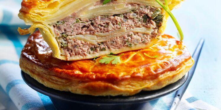 Pâté du Limousin à la viande hachée