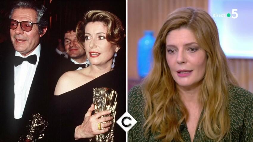 Chiara Mastroianni revient sur cette énorme dispute entre Catherine Deneuve et Marcello Mastroianni... à cause d'elle !