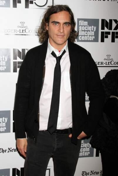 """Joaquin Phoenix à l'avant-première du film """"Her"""""""