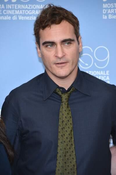 """En 2012, l'acteur revient à son look d'origine pour le film """"The Master"""""""
