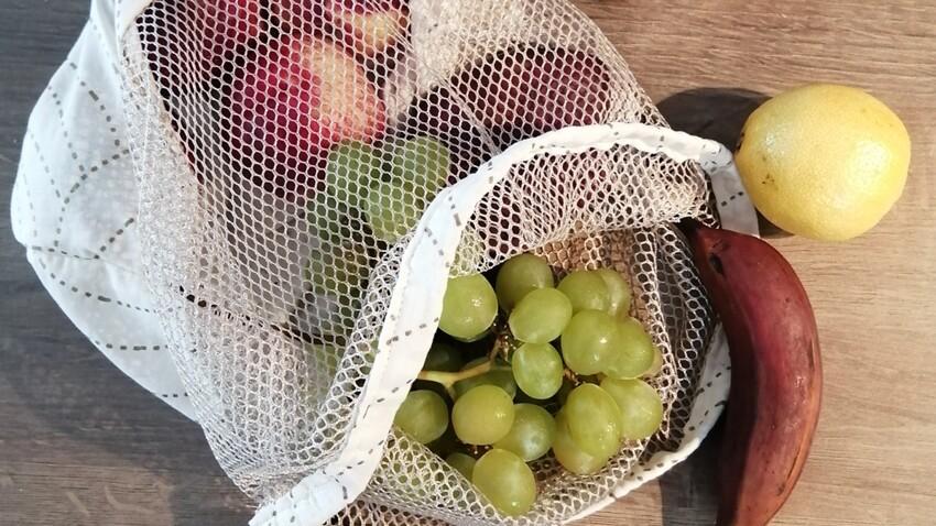 Tuto : le sac à vrac pour des courses zéro déchets