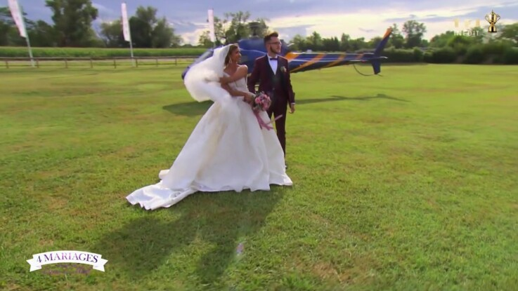 """""""4 mariages pour une lune de miel"""" : un couple débarque en hélicoptère, les critiques pleuvent"""
