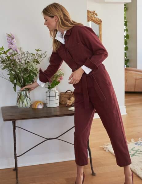 Combinaison pantalon : décontracté