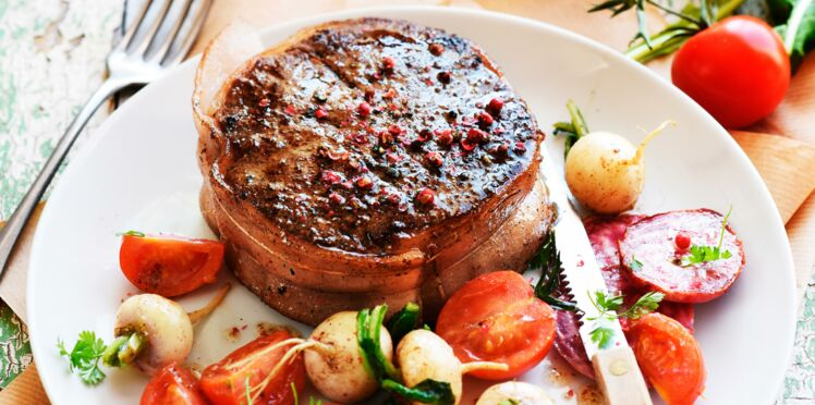 Tournedos aux baies roses