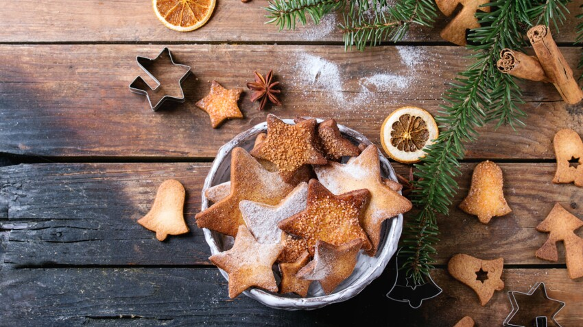Recettes de biscuits de Noël faciles